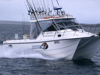 Raptor for Reel action fishing charters